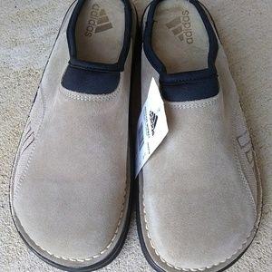 Adidas Men's Clogs Mules Slip On Shoes Suede Sz 11